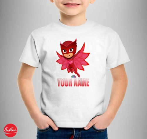 Owlette PJ Mask Personalised T-shirt